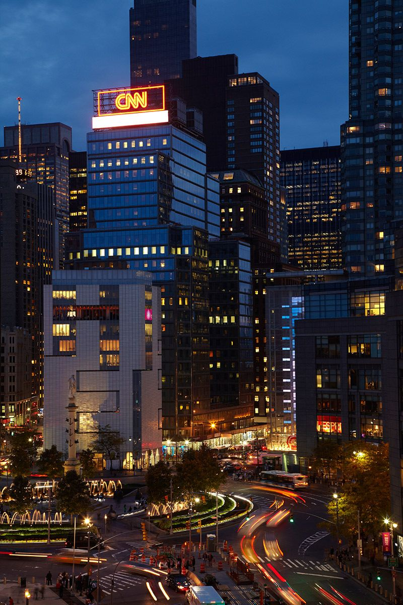 Columbus Circle from 15 Central Park West