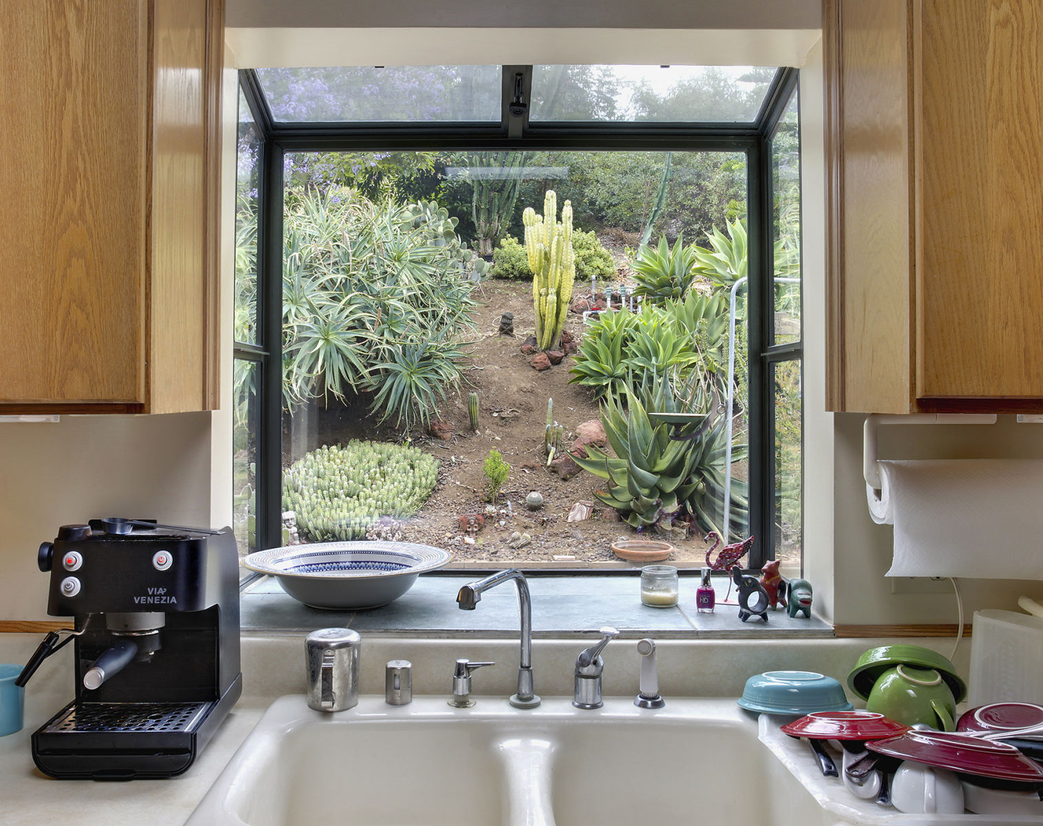 Country Kitchen View