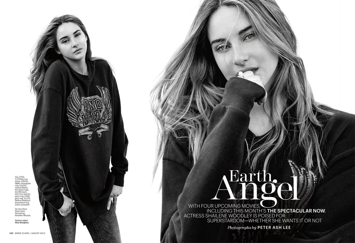 Marie Claire with Shailene Woodley