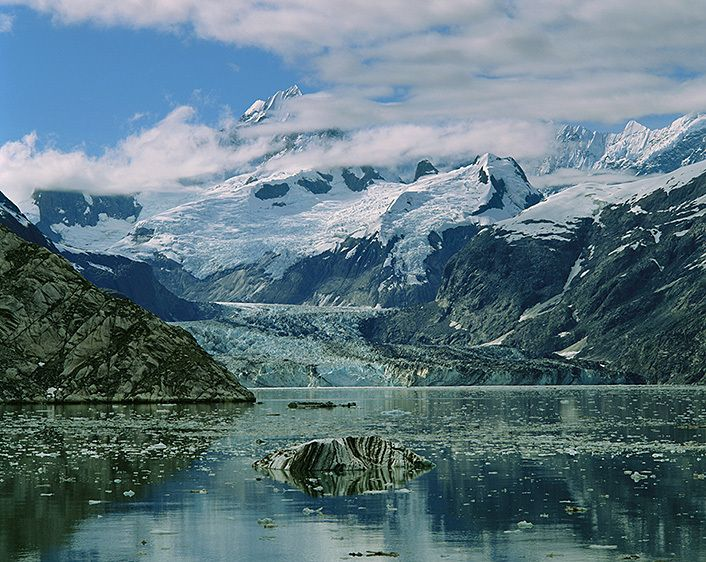 JOHN HOPKINS INLET, GLACIER BAY, 1988