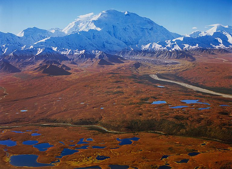 KETTLE PONDS, THE MUDDY RIVER AND DENALI, 2006