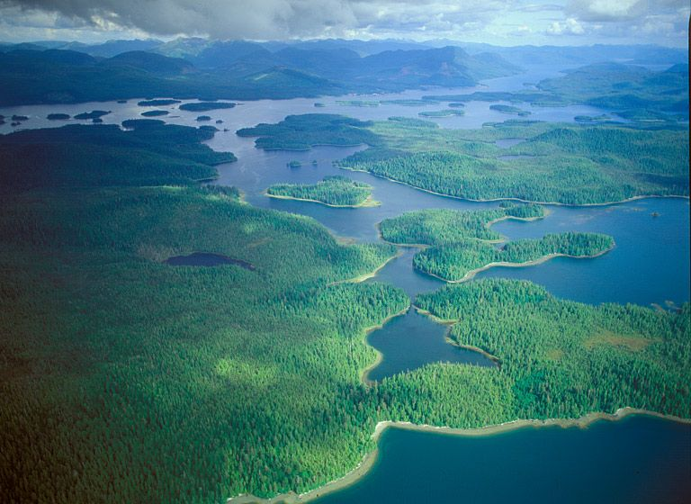 ISLANDS OF THE TONGASS, 1993