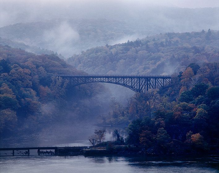 THE POPOLOPEN BRIDGE, BEAR MOUNTAIN STATE PARK, 1983