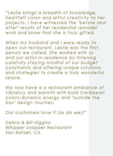 Restaurant Design Testimonial