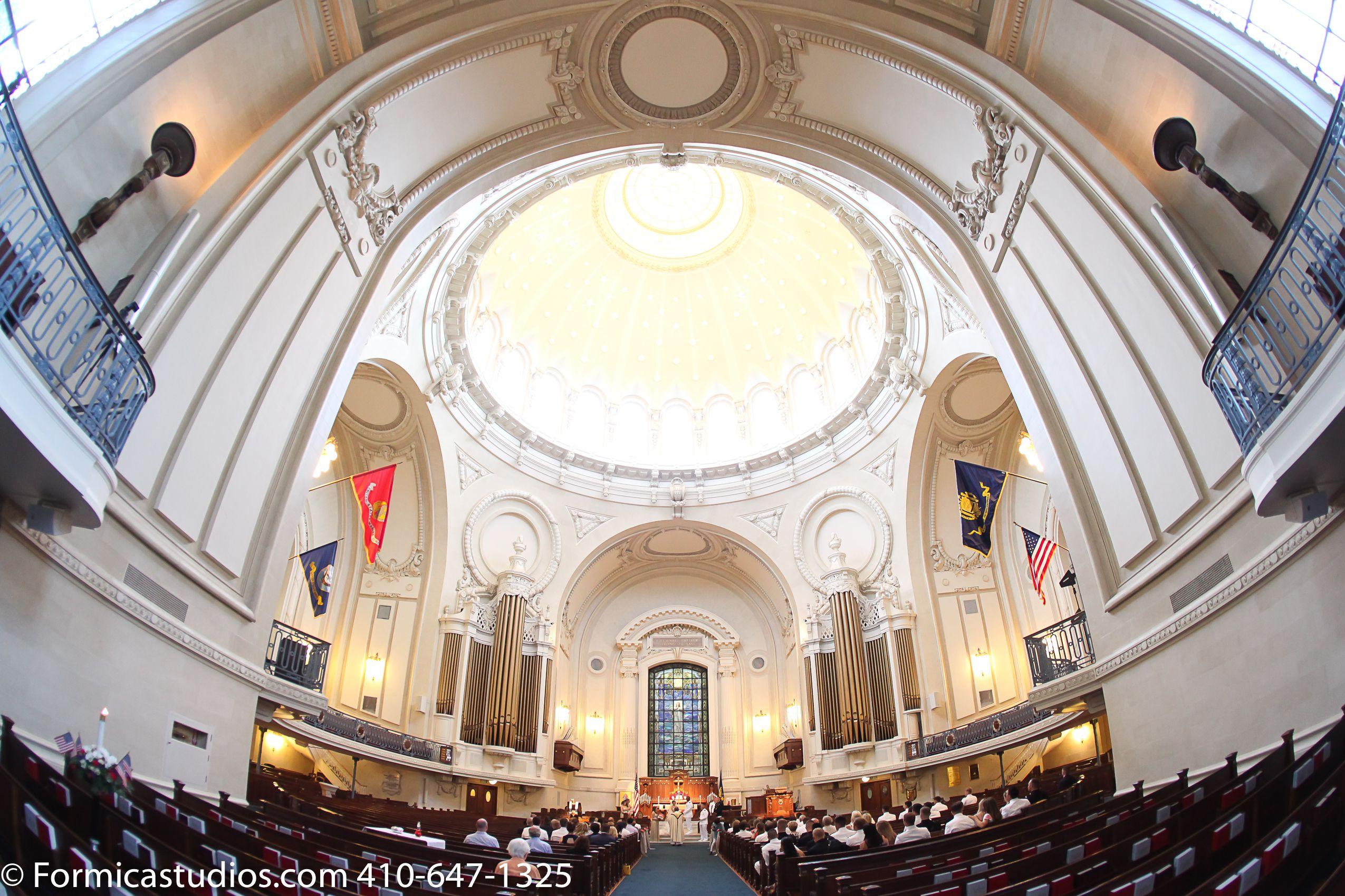 Naval Academy Chapel Photo