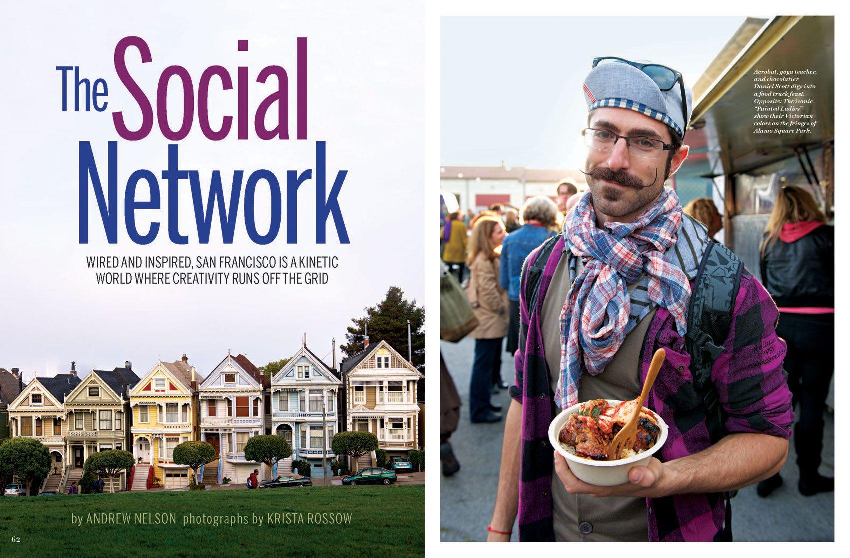"""San Francisco: The Social Network"""