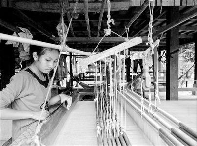 Fourth Generation Silk Weaver...