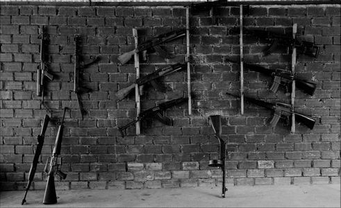 Wall of Guns - Shooting Range...