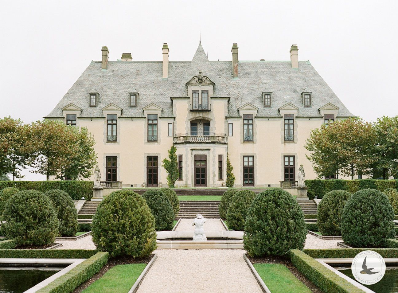 View of Oheka Castle