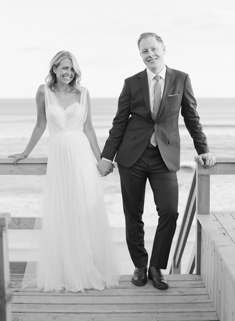 Casual Fall Wedding in Montauk, NY
