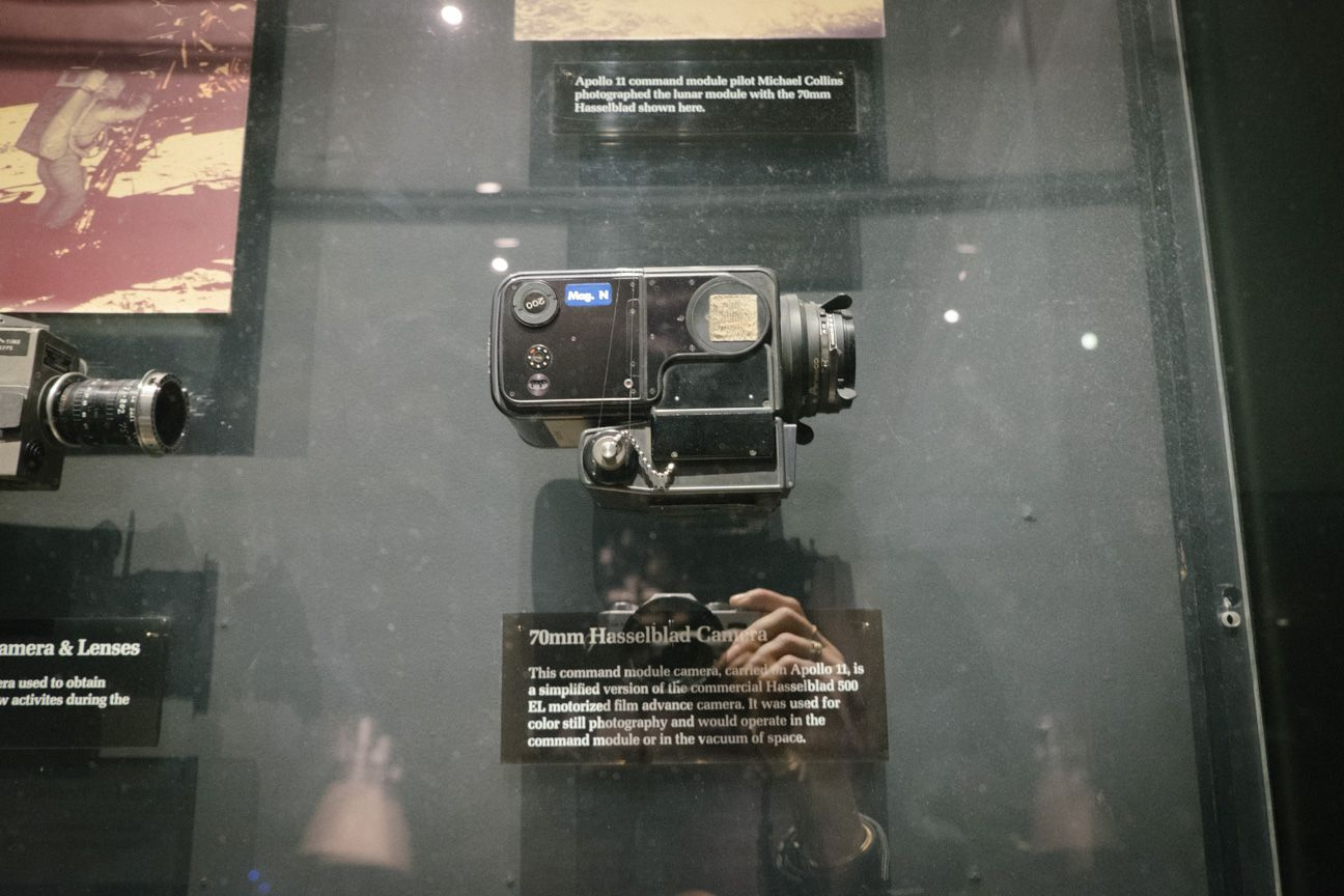 The Hasselblad that went to the moon