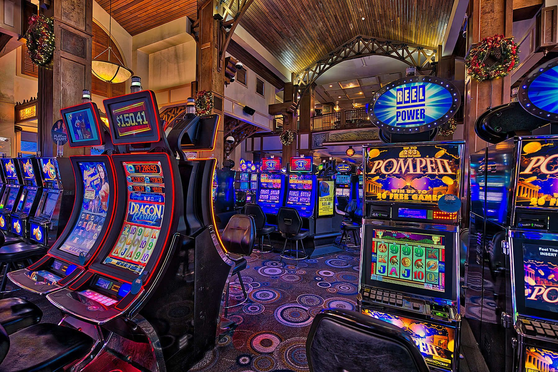 Slot Machines, photographed by Michigan architectural photographer Tony Segielski