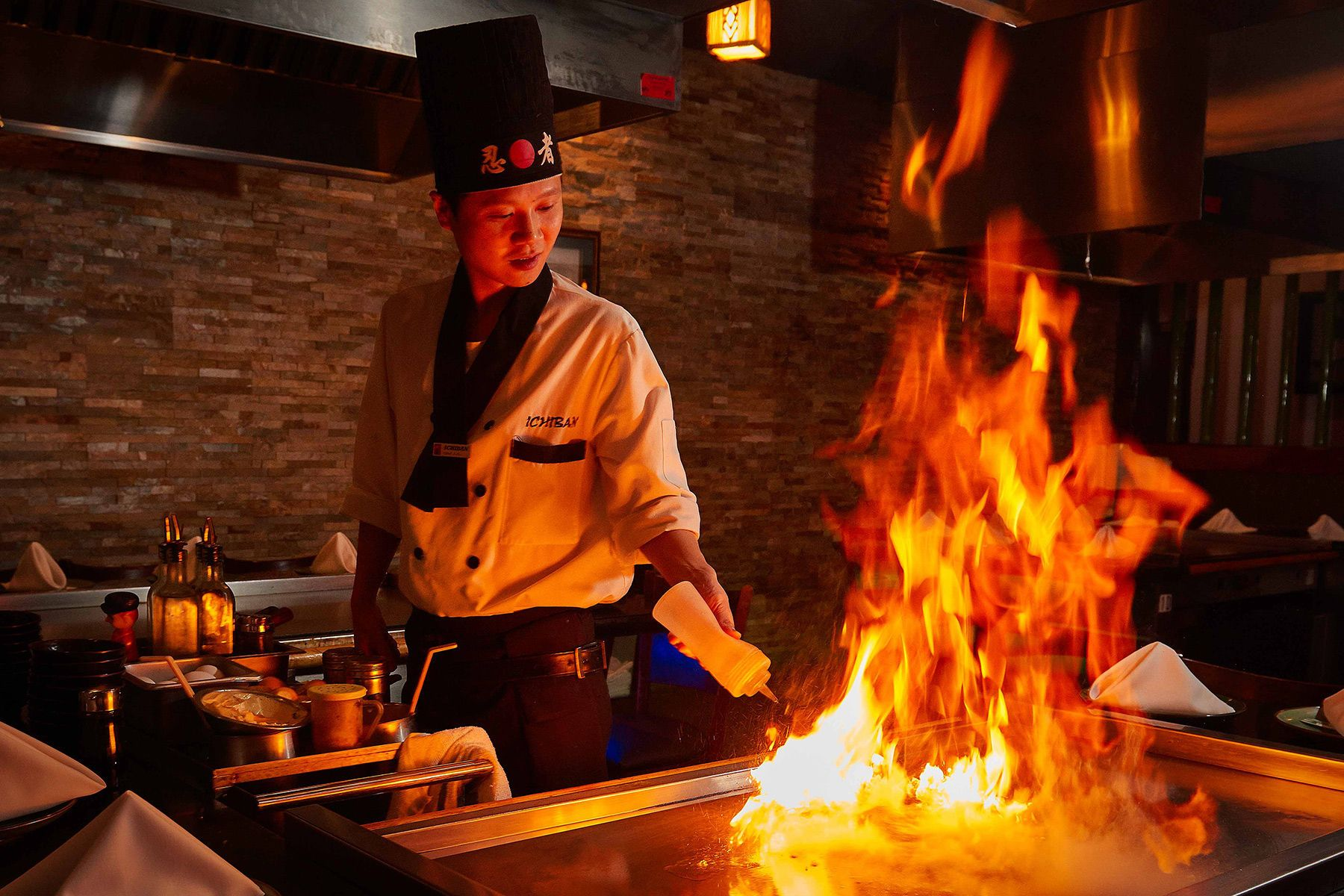 Japanese Steakhouse Chef
