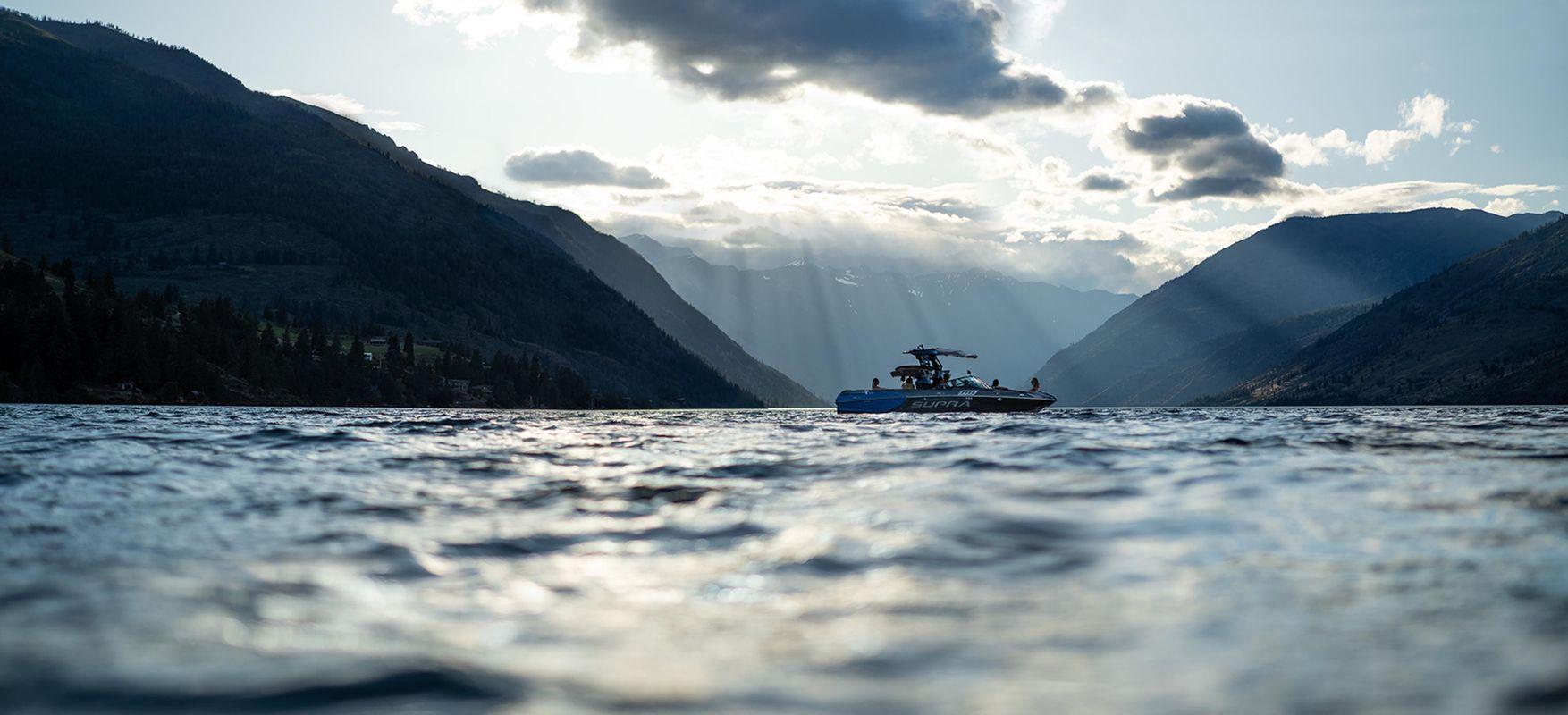 Supra Boats Washington Mountains