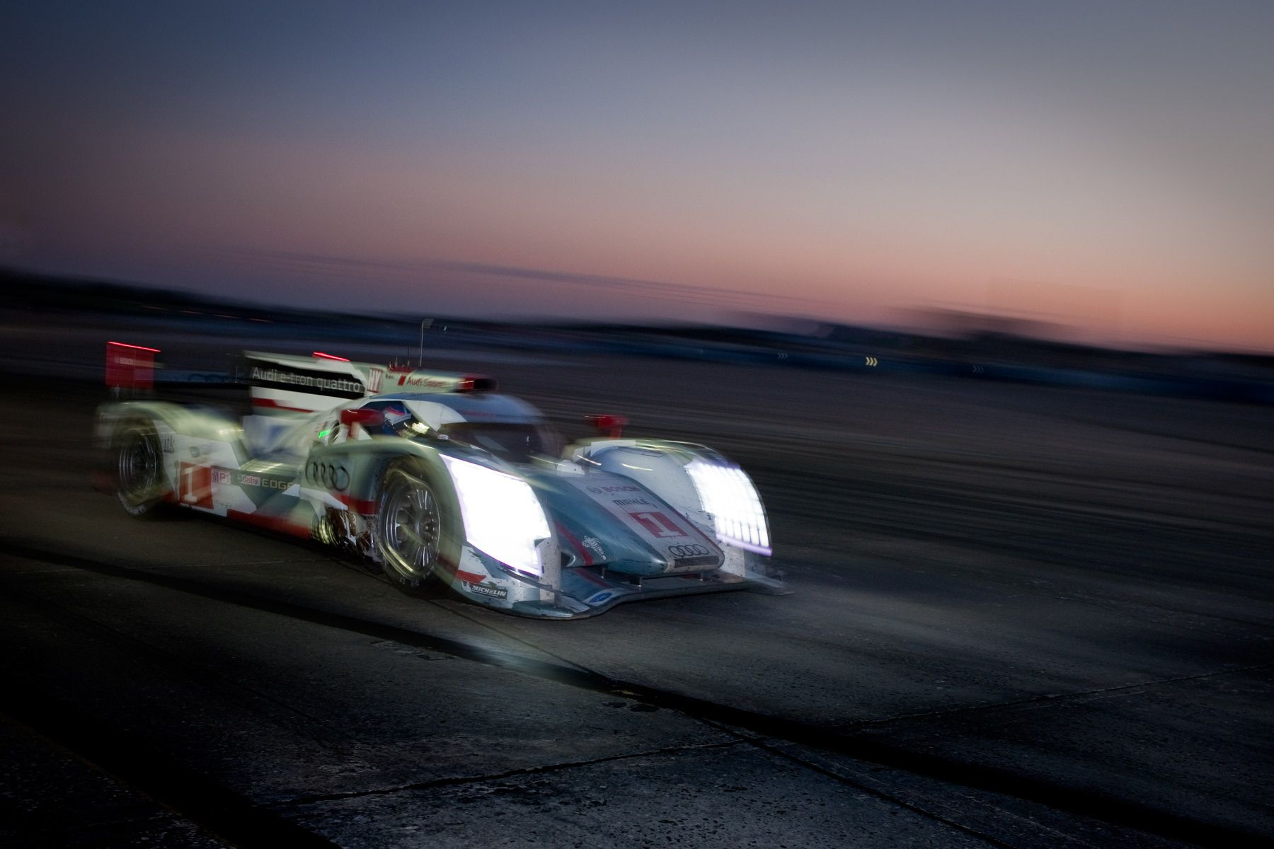 Audi R18 Etron Winner 2013 12 Hours of Sebring