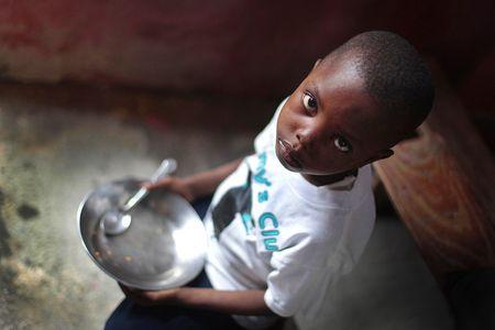child feeding program / Please Pass the Bread