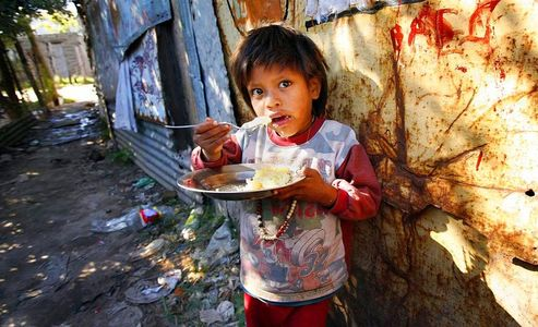 humanitarian aid / World Aid New York / Toba indians, the poorest of the poor Argentina