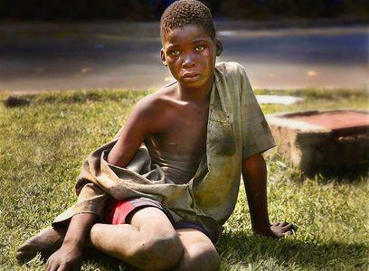 street kids / AIDS orphans Lusaka Zambia