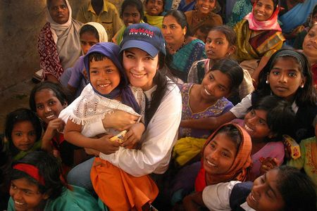 World Aid New York - humanitarian aid efforts, these were orphans and lepers in India