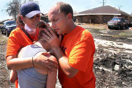 Huricanne Katrina relief