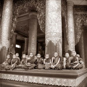 Boy monks / Myanmar