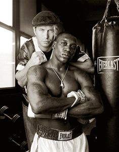 Steven Baldwin actor and manager with his boxer