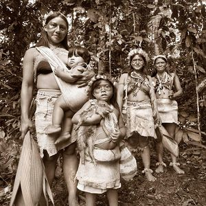 Auca Indian tribe / Amazon Rainforest, Ecuador