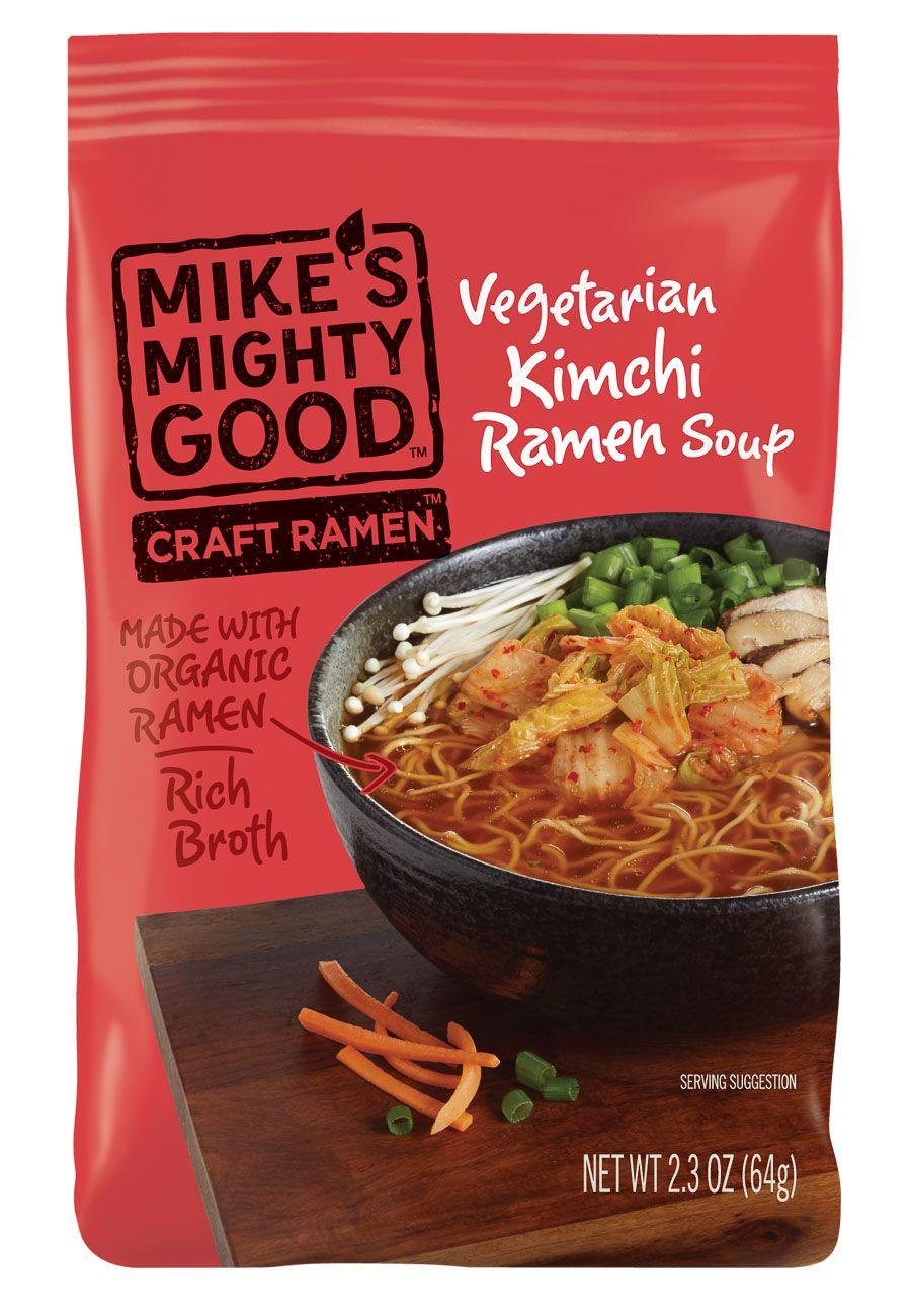 Mikes vegetarian kimchi ramen
