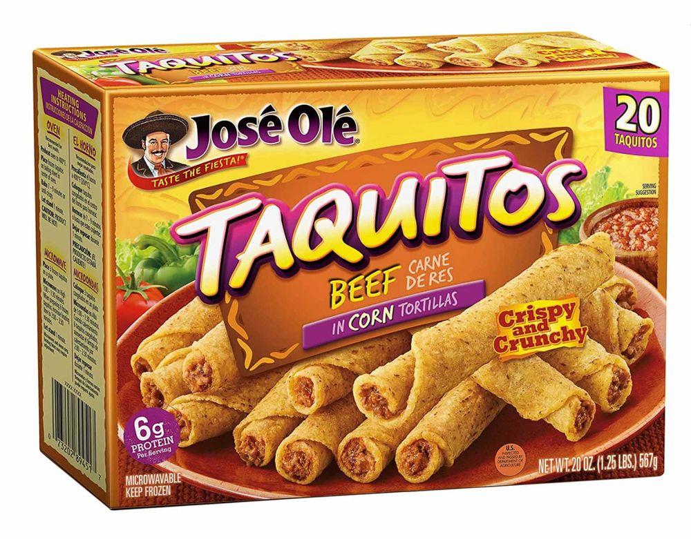 Jose Ole beef  taquitos