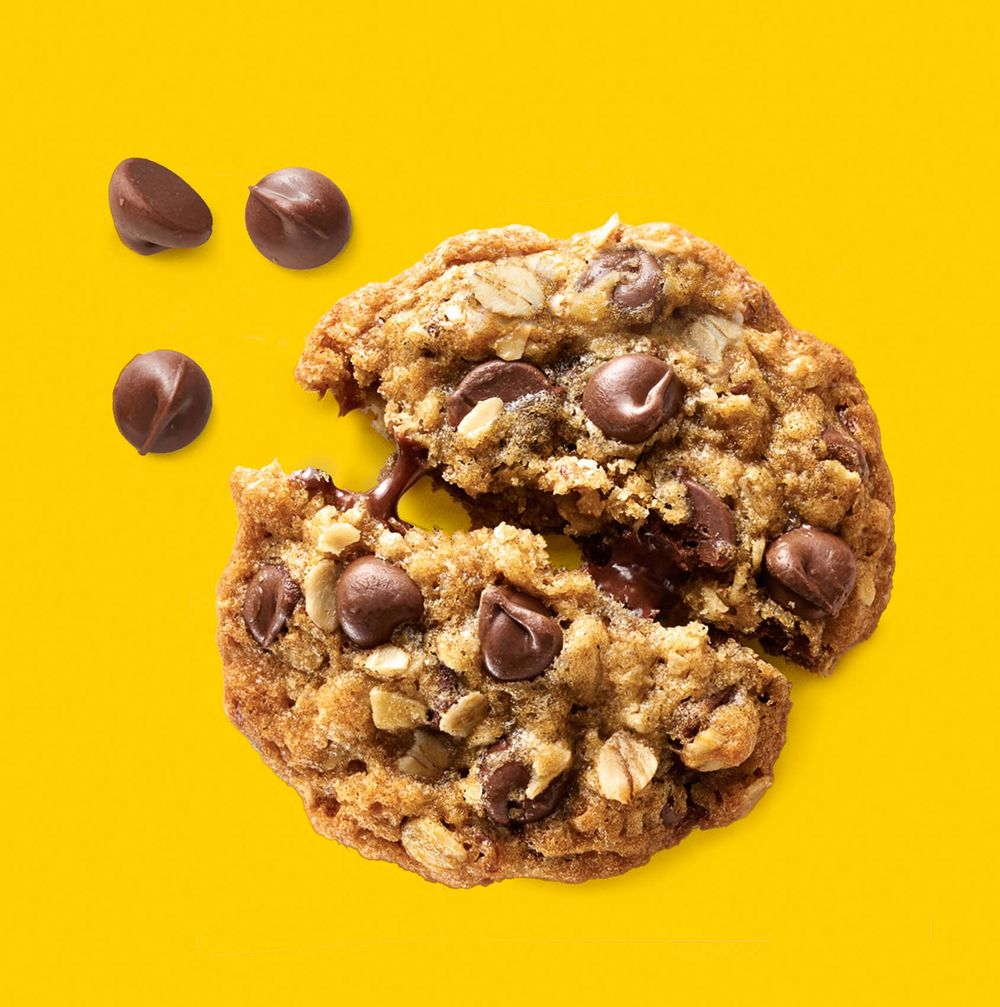 Nestle Toll House milk chocolate chip cookie