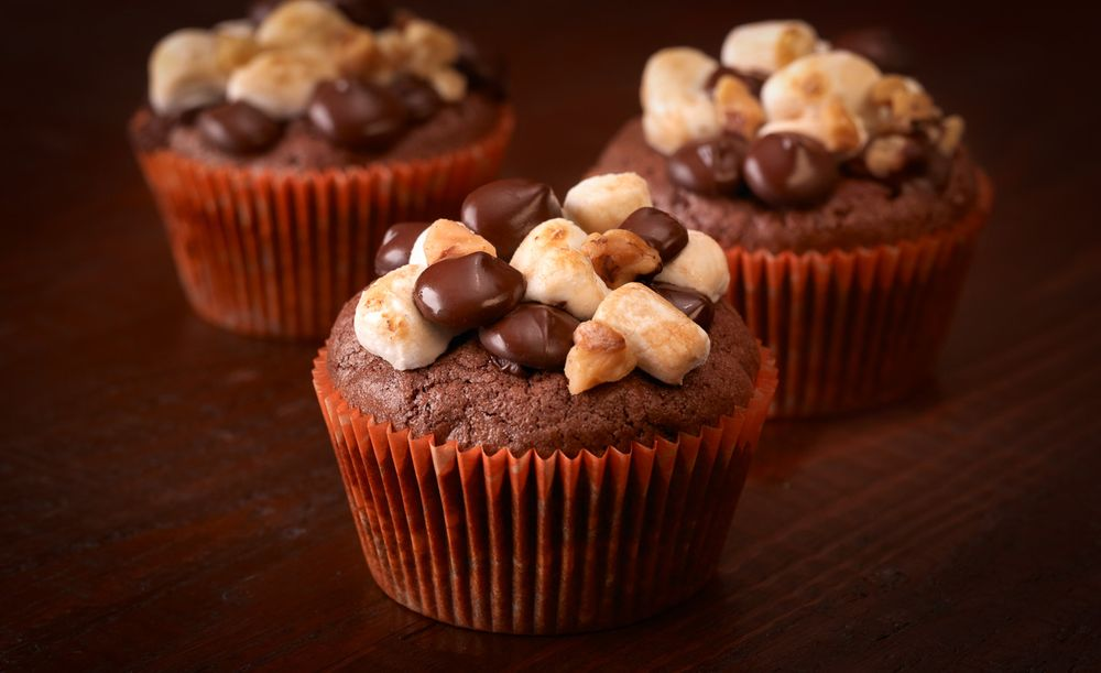 Ghirardelli chocolate cupcakes