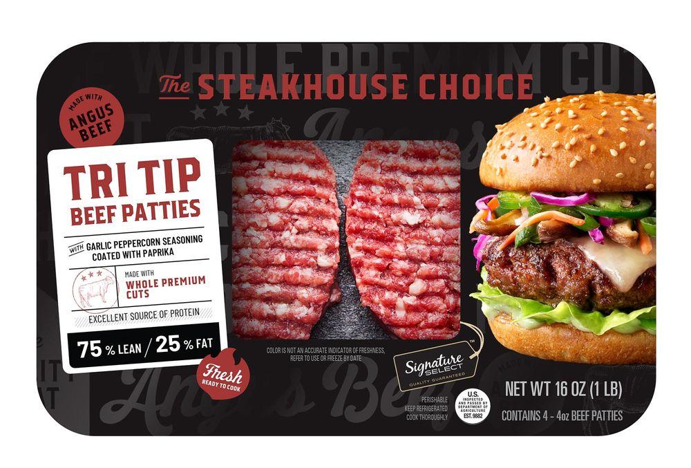 Albertson's Signature Select jalapeno coleslaw burger