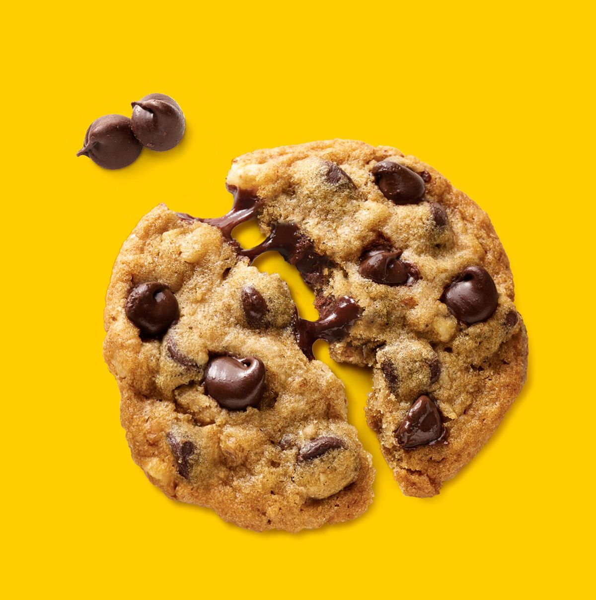 Nestle Toll House semi-sweet chocolate chip cookie
