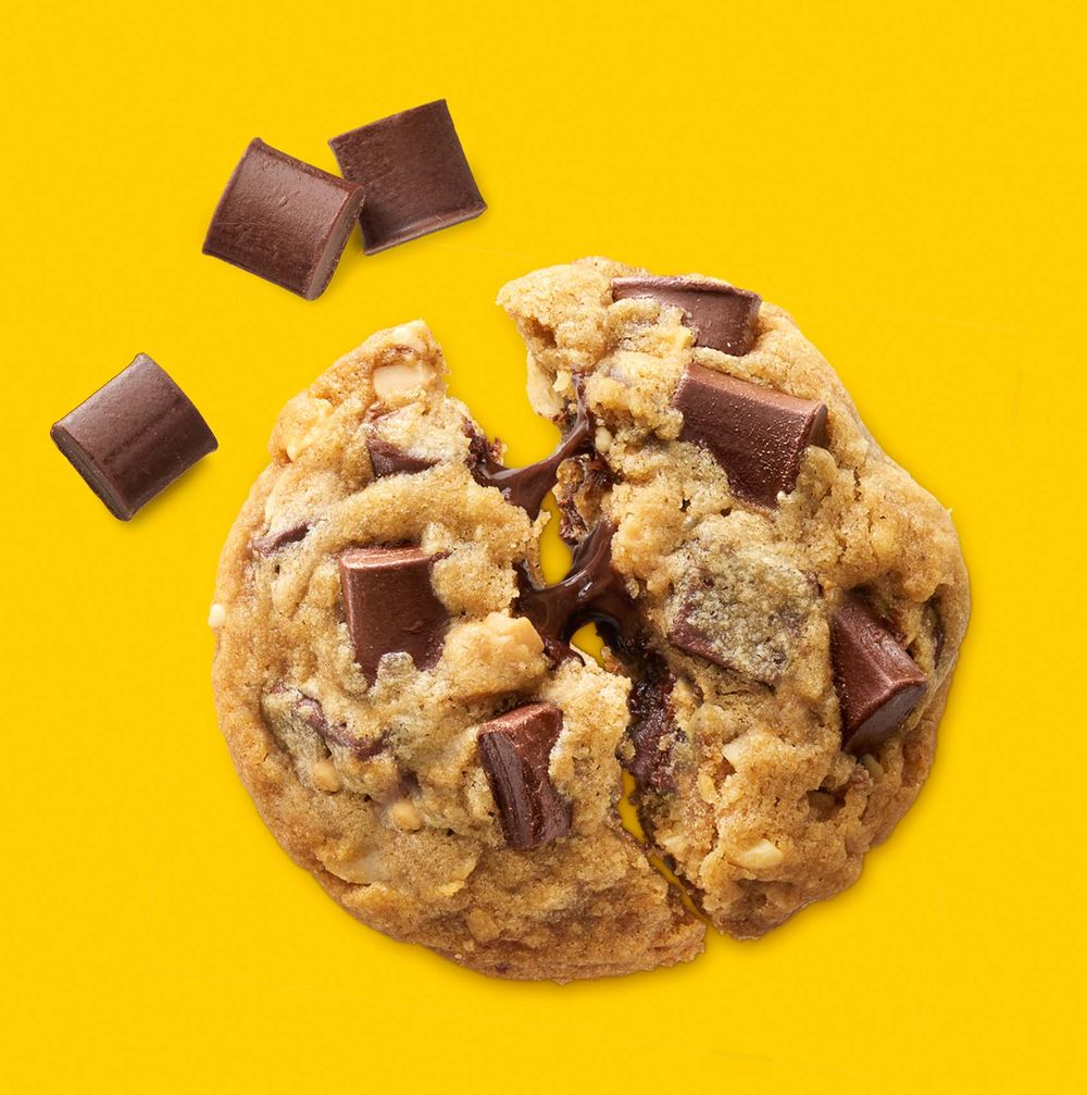 Nestle Toll House chocolate chunk cookie