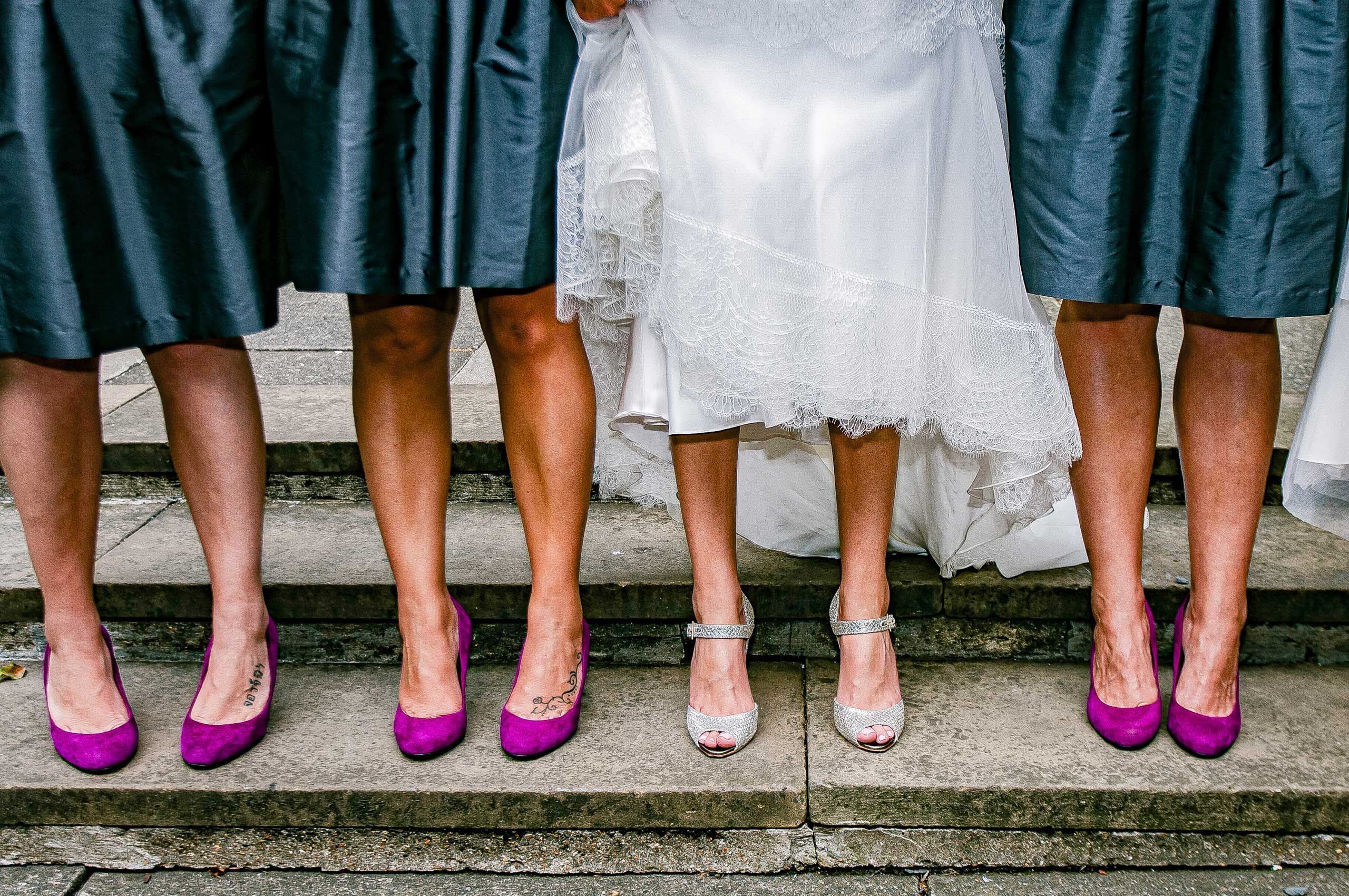 Wedding Shoes, Wedding Photography London