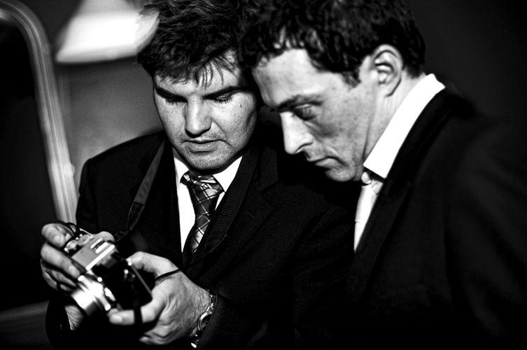 Paul Hames & Rufus Sewell