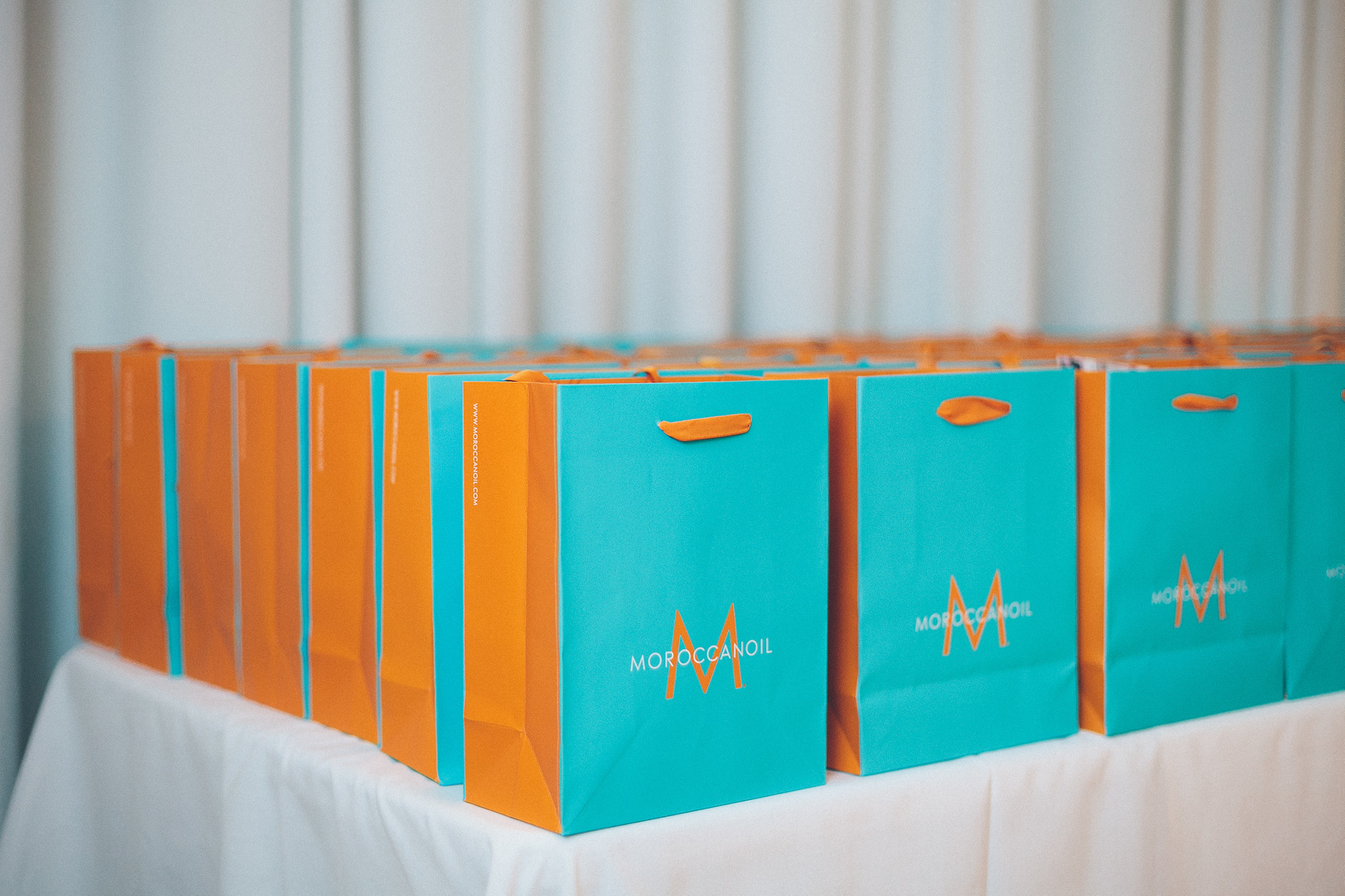 Chez Badeaux Coils and Curls Beauty Lounge at Sagamore, The Art Hotel. Moroccan Oil Clinic.