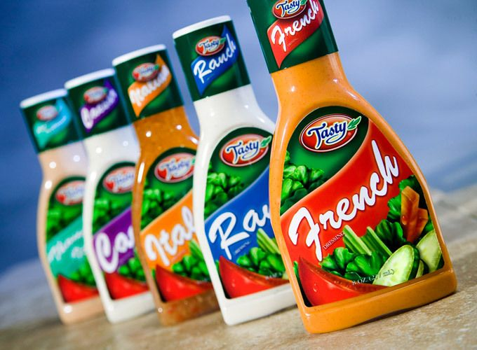 San Diego Product Photography - Tasty Foods Dressing