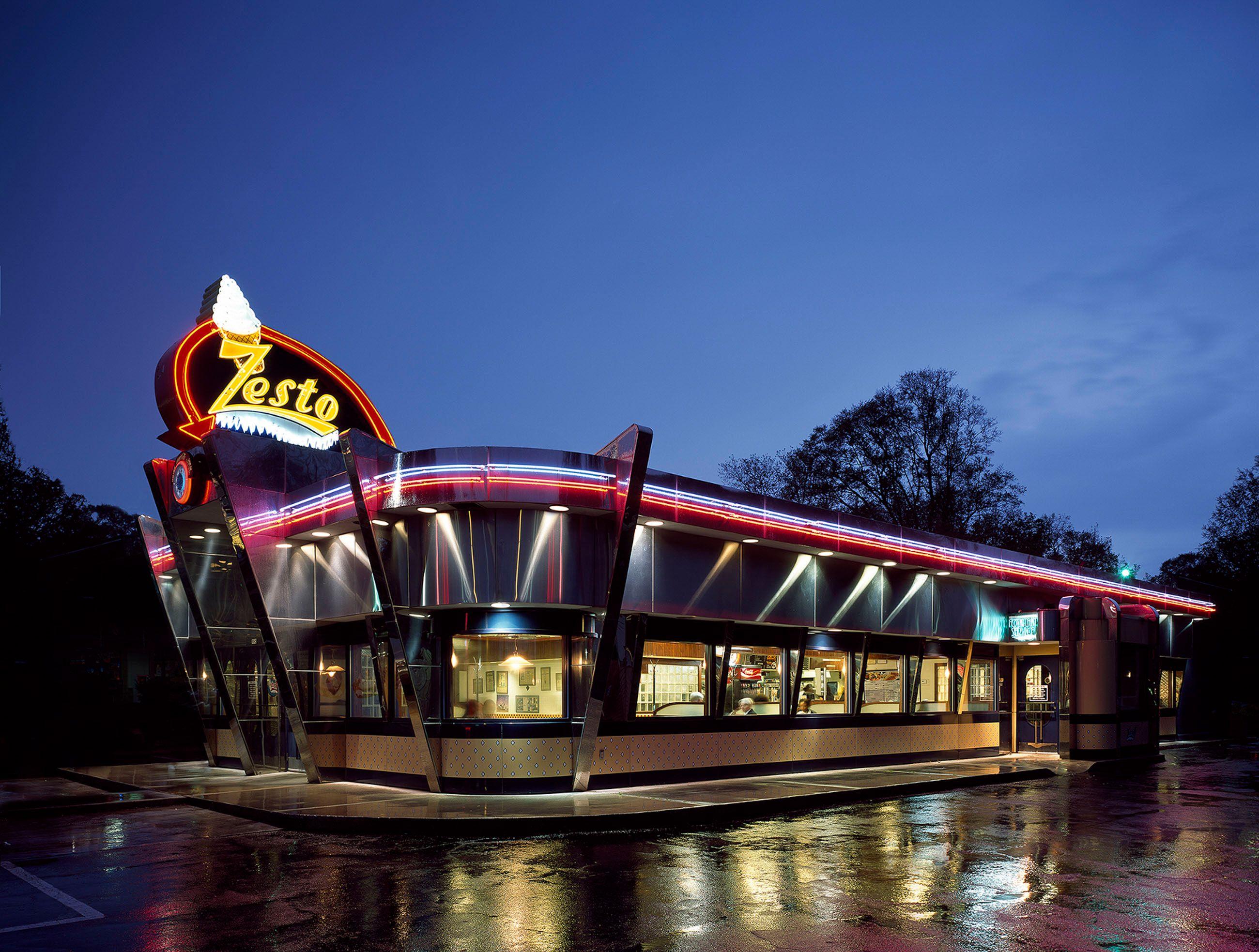Zesto Diner Atlanta, GA USA