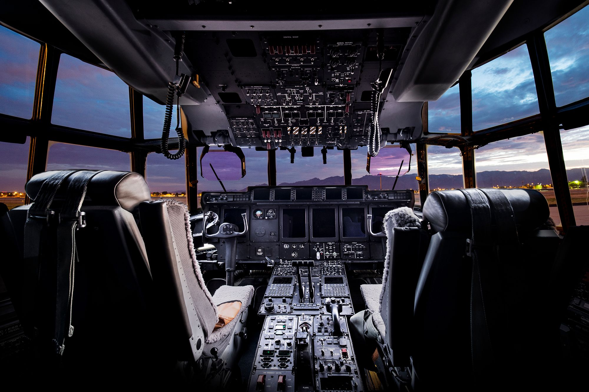 C-130 Cockpit, Tucson, AZ