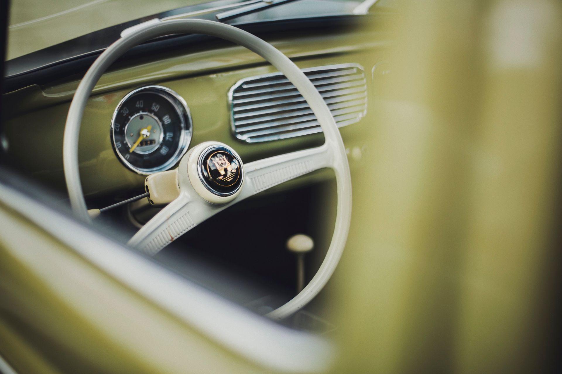 VW Beetle interior