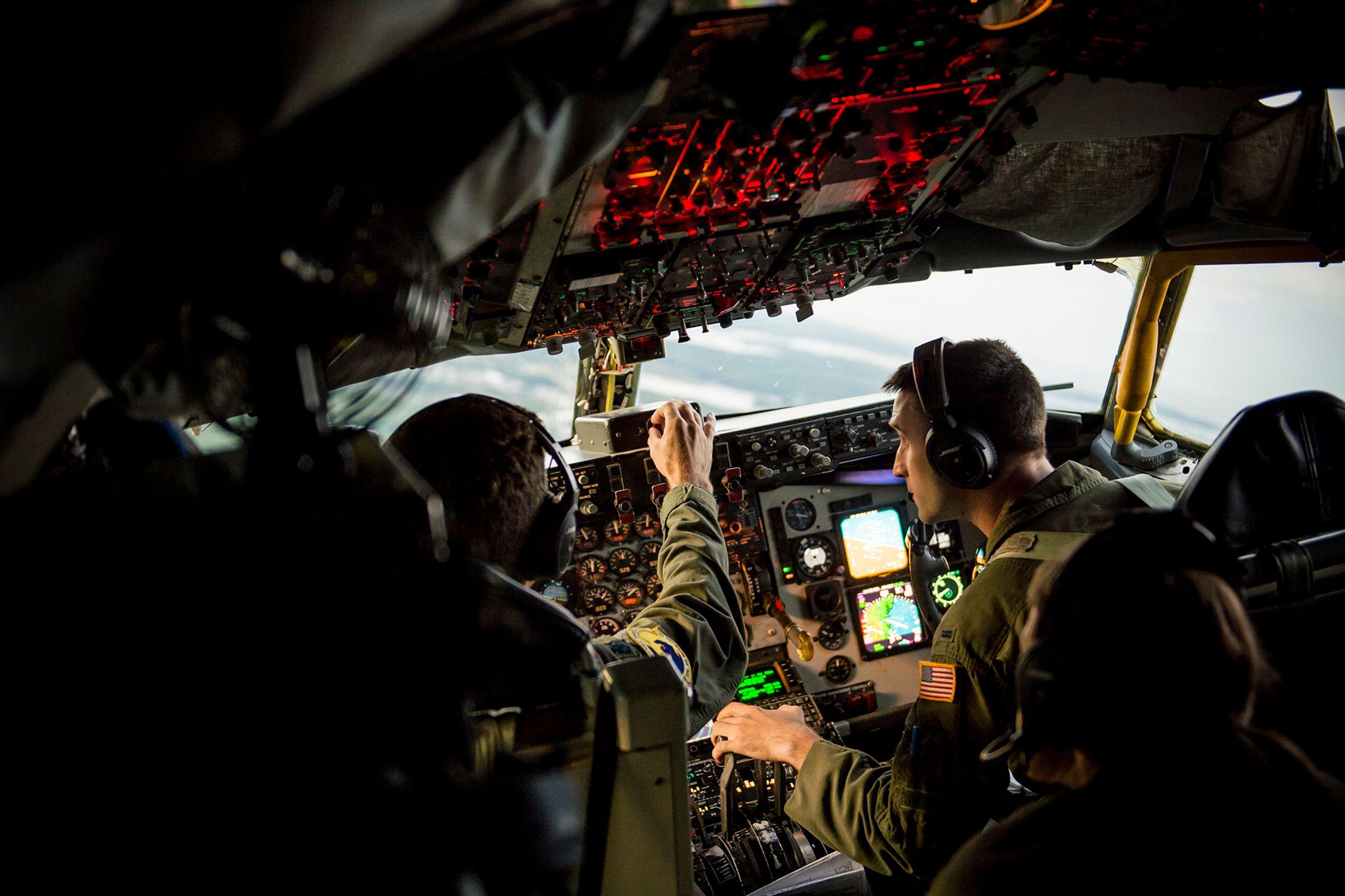 In Flight KC-135