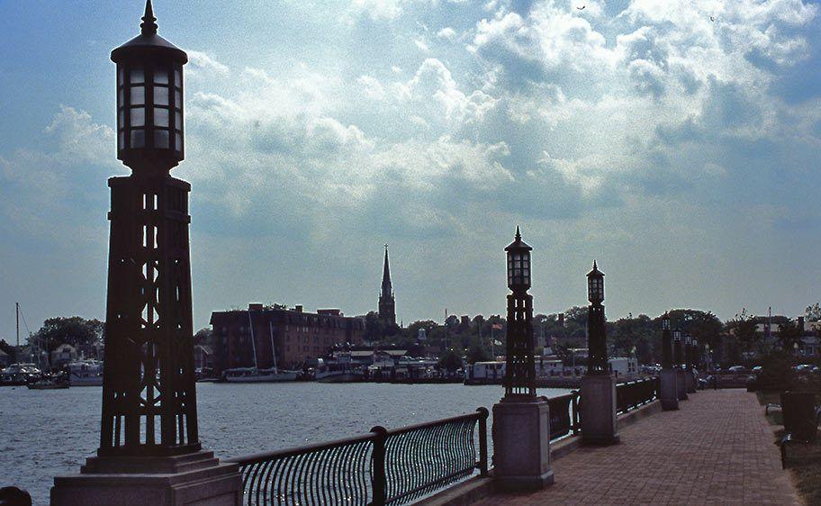 View toward Annapolis