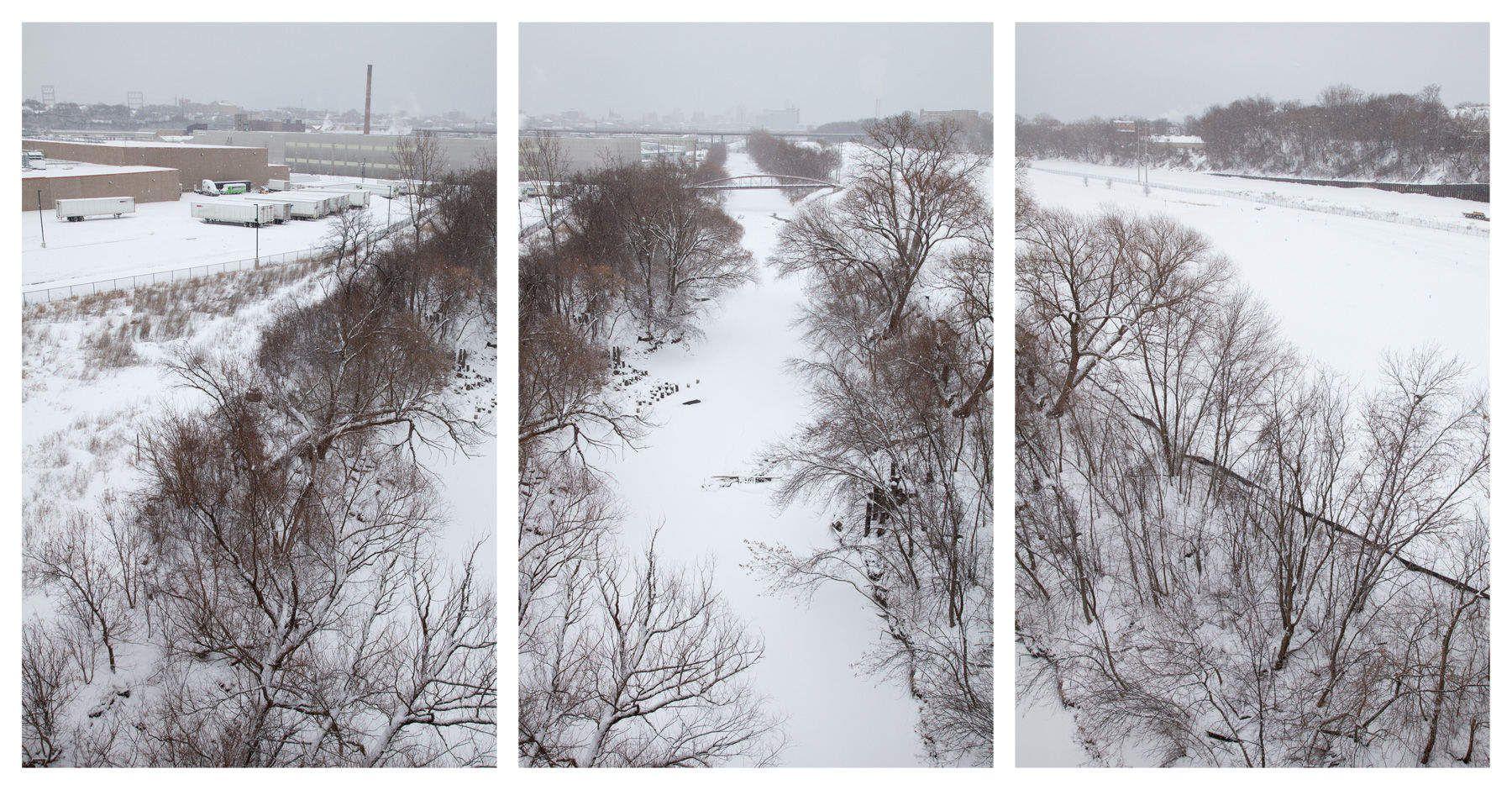 Winter: Menomonee River