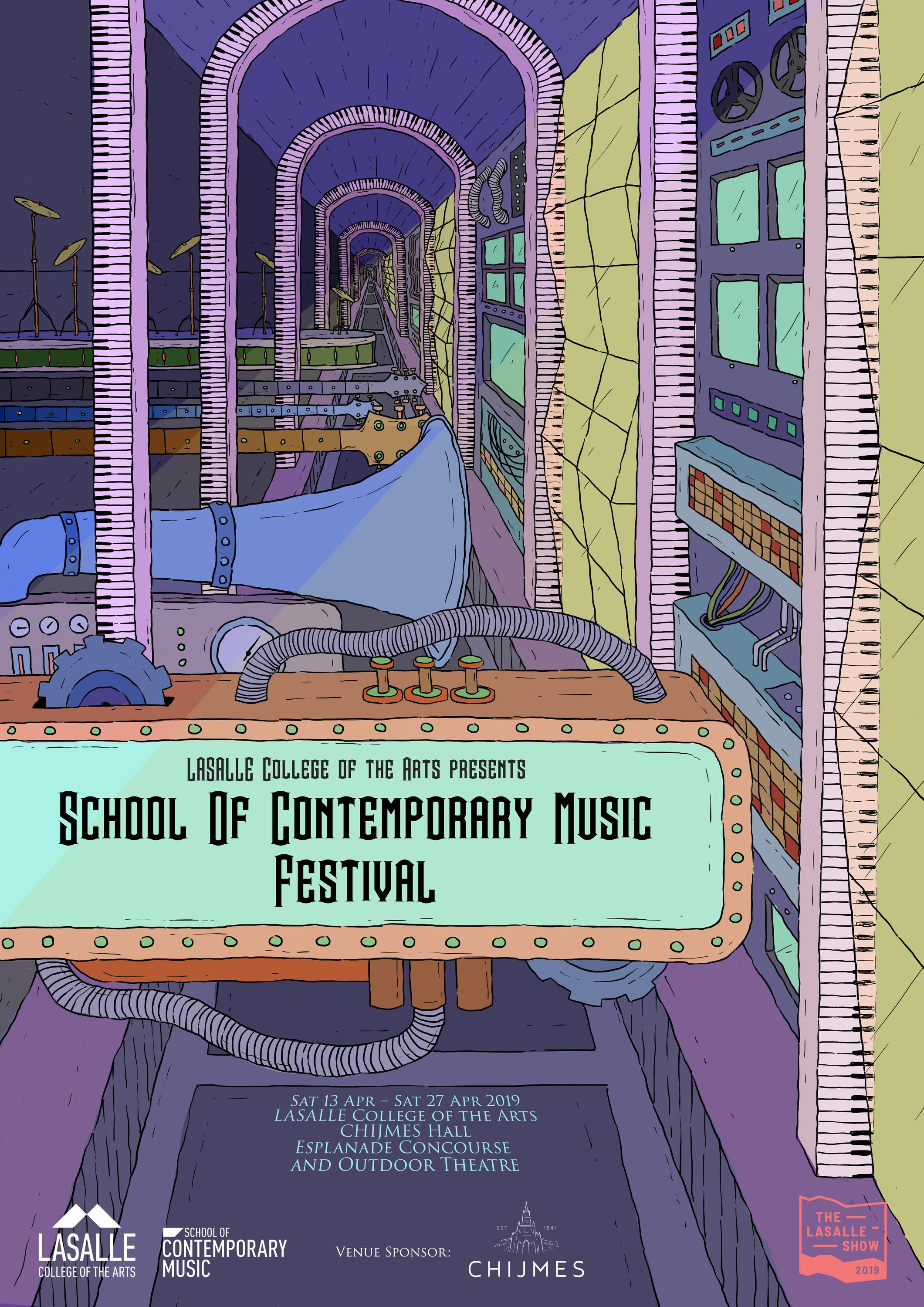 School of Contemporary Music Festival, 2019