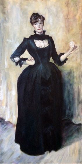 Copy of Lady With The Rose (Sargent)