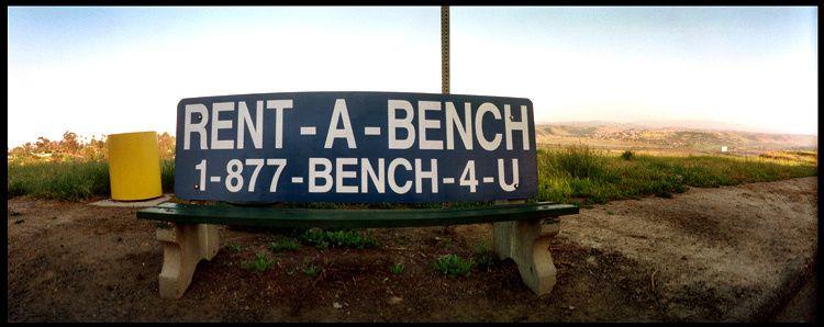 rent-a-bench
