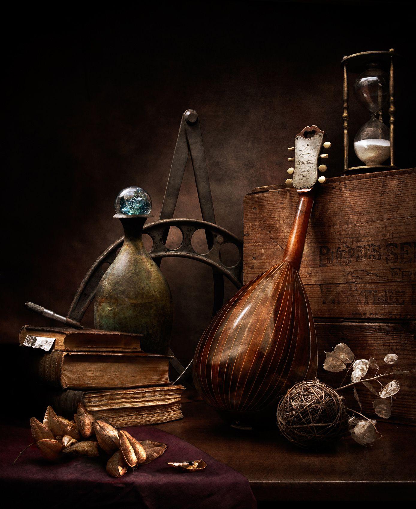 Still Life with Mandolin by Harold Ross