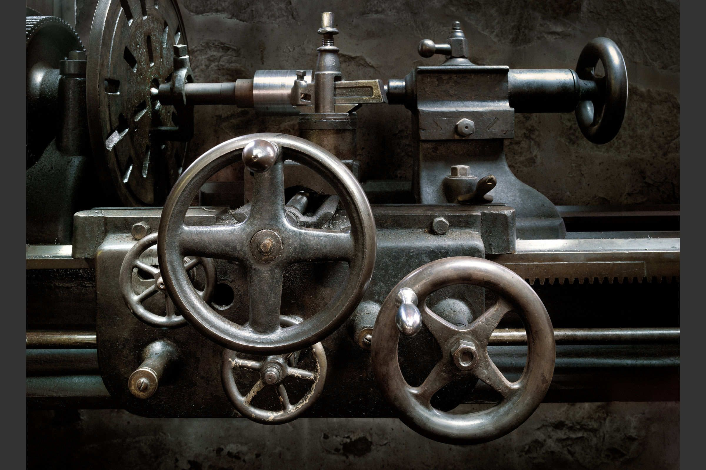 Lathe Hagley Museum by Harold Ross