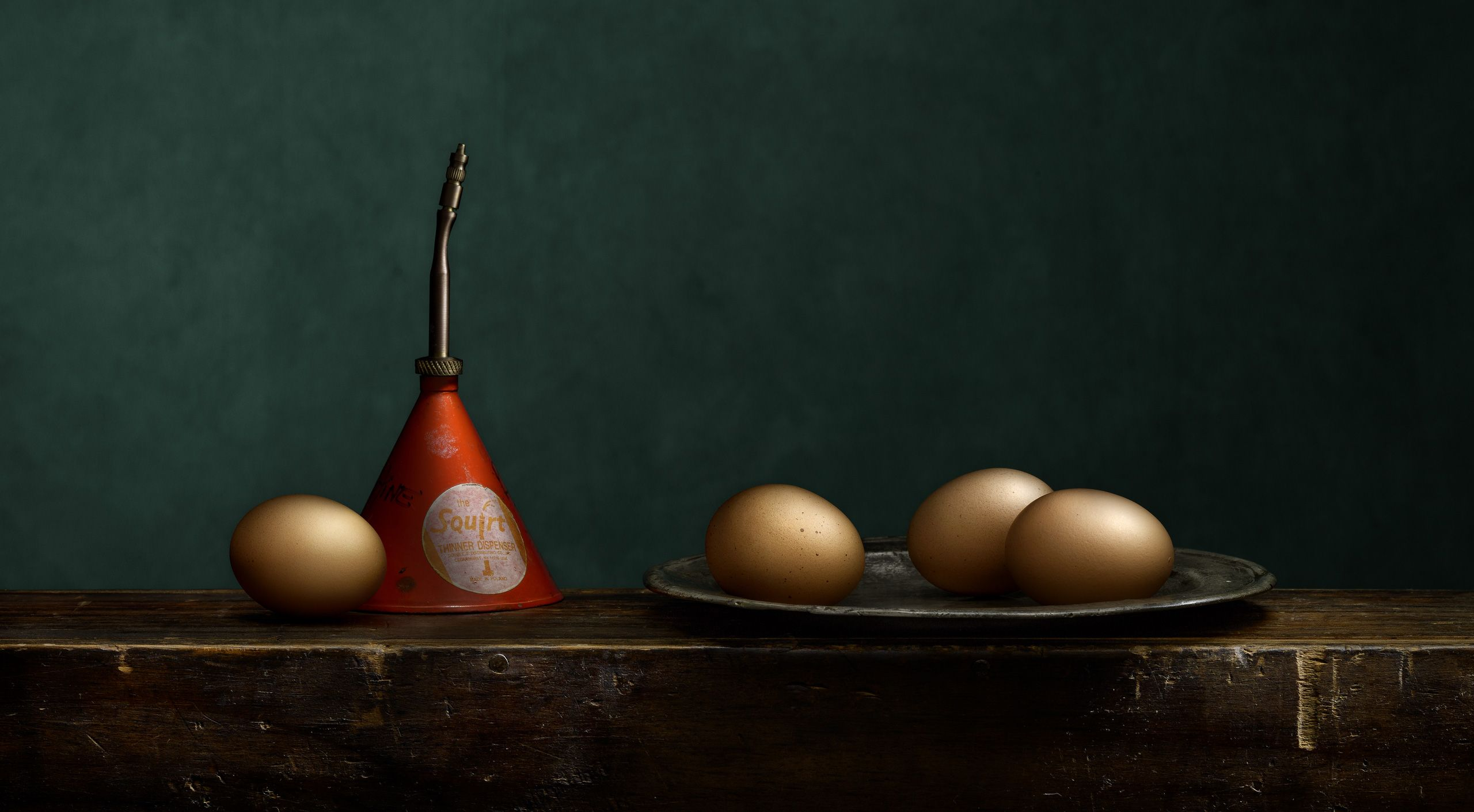 Eggs and Solvent by Harold Ross